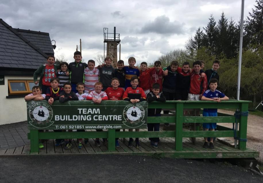 Team Building at Derg Isle