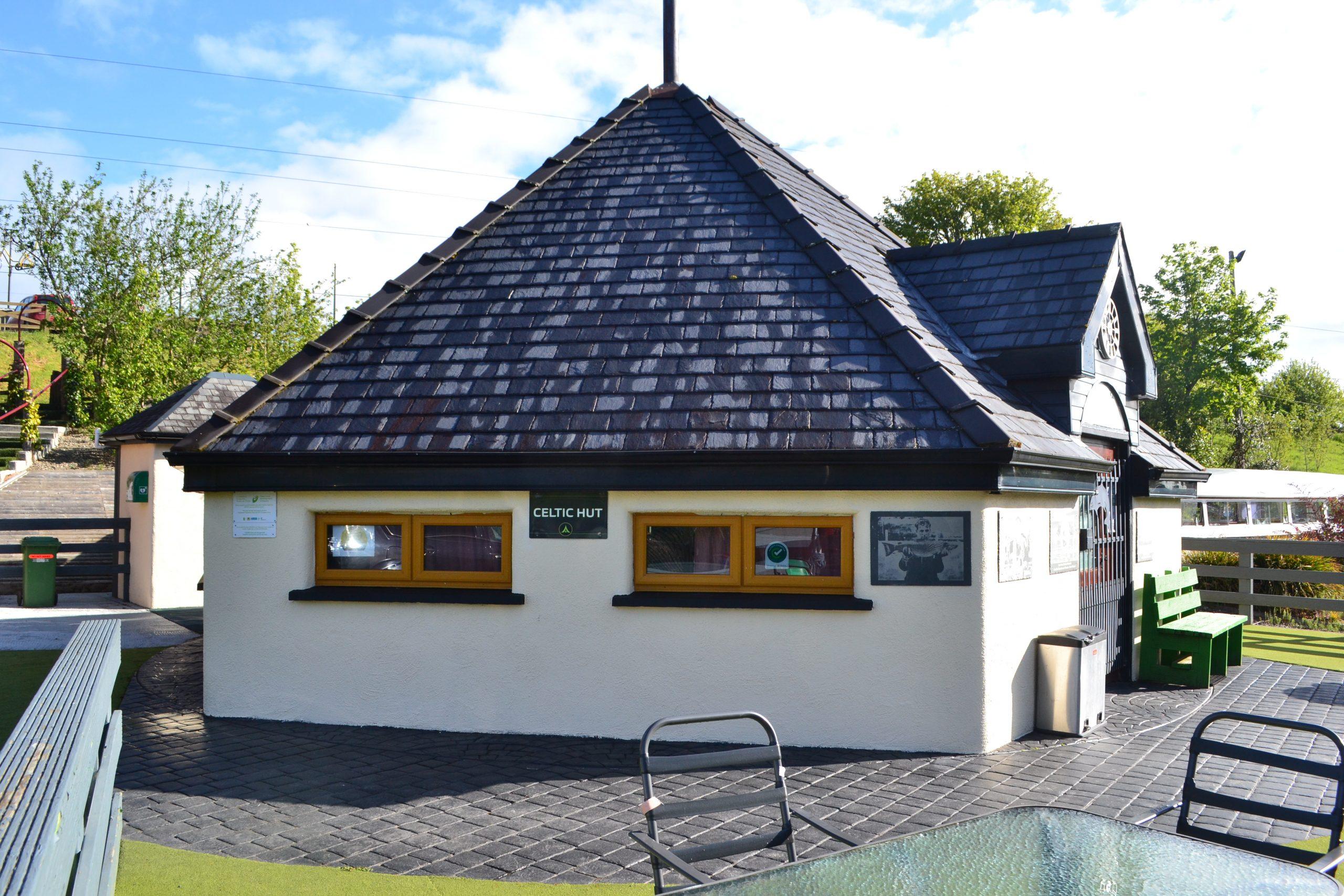 Celtic Hut at Derg Isle